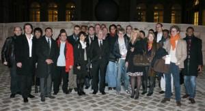 Photo des Jeunes Actifs des Hauts-de-Seine à l'Assemblée Nationale