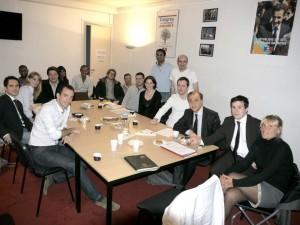 Déjeuner de Travail des Jeunes Actifs des Hauts-de-Seine avec Roger Karoutchi