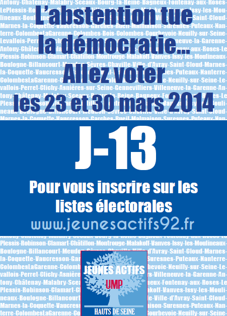 Affiche Elections